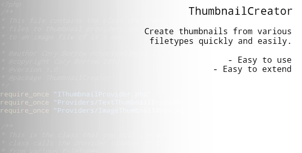 ThumbnailCreator - CodeCanyon Item for Sale