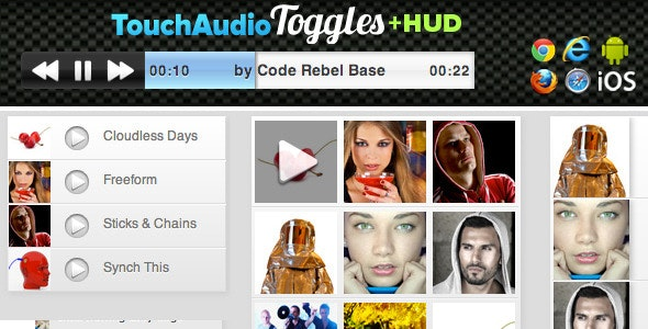 Touch Audio Toggles +HUD - CodeCanyon Item for Sale