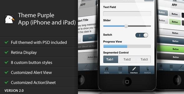 Theme Purple App - CodeCanyon Item for Sale