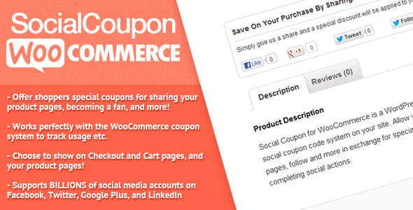 Social Coupon for WordPress        Nulled