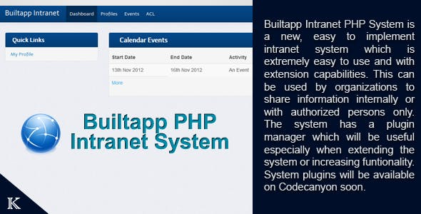 Builtapp Intranet System