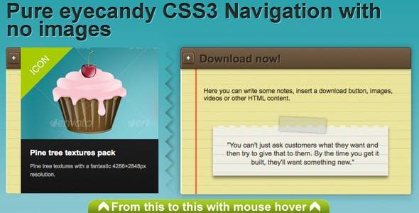 CSS3 Sliding Navigation