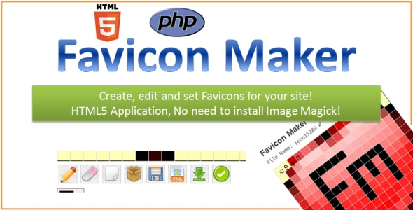HTML5 Favicon Maker by vadepaysa | CodeCanyon