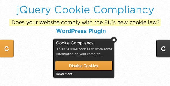 Cookie Compliancy For Wordpress