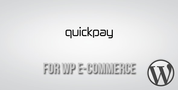 Quickpay Gateway for WP E-Commerce - CodeCanyon Item for Sale