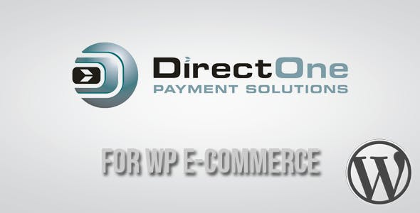 DirectOne Gateway for WP E-Commerce