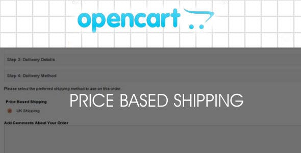Shipping based on pricing