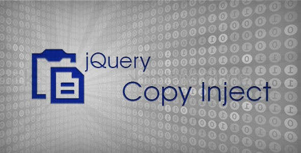 jQuery Copy Inject