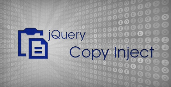 jQuery Copy Inject - CodeCanyon Item for Sale