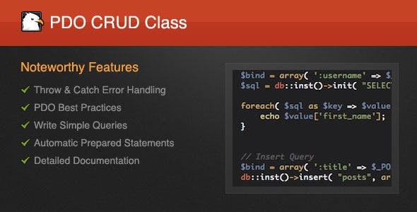 Pdo Plugins, Code & Scripts from CodeCanyon