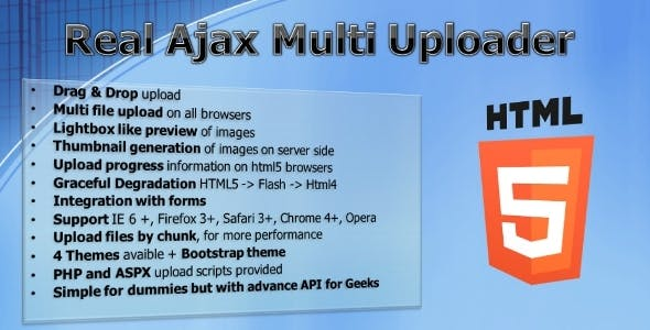 Real Ajax Multi Uploader