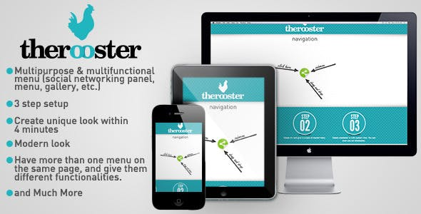 TheRooster Multipurpose Menu