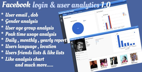 Facebook Login & User Analytics Script 1.0