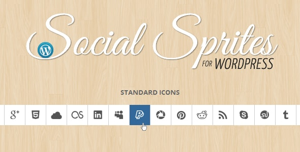 Social Sprites Icons Widget - CodeCanyon Item for Sale