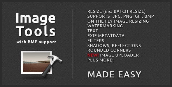 Image Tools with BMP Support