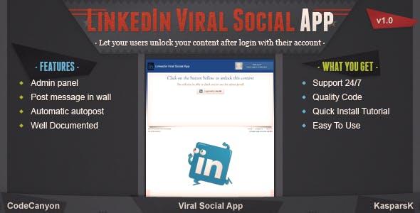 LinkedIn Viral Social App