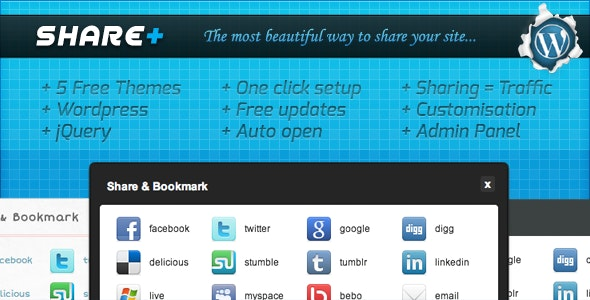 SharePlus (+) : The most beautiful way to share - CodeCanyon Item for Sale