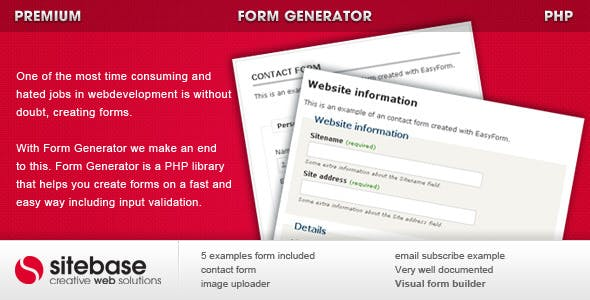 Form Generator        Nulled