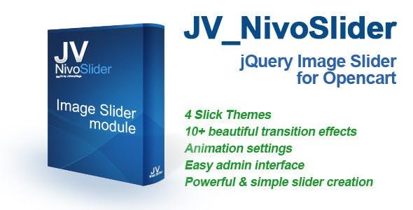 JV_NivoSlider - jQuery Image Slider for Opencart