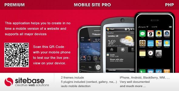 Mobile Site PRO
