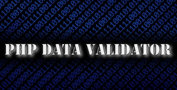PHP Data Validator