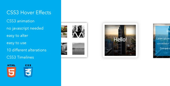 Advanced CSS3 Hover Effects 3 - CodeCanyon Item for Sale