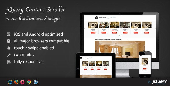 jQuery Content Scroller DZS - CodeCanyon Item for Sale