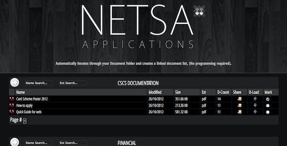 Netsa Document File Lister