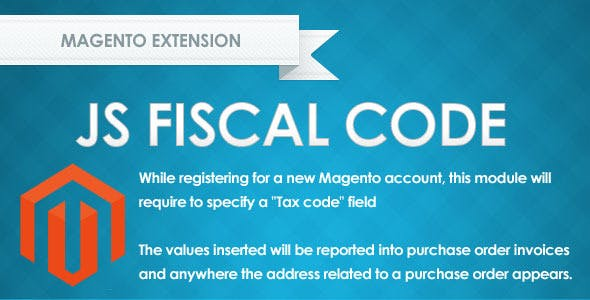 JS Fiscal Code for Magento
