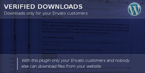 Verified Downloads - CodeCanyon Item for Sale