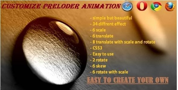 SASE - Customize Preloader Animation