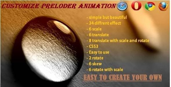 SASE - Customize Preloader Animation