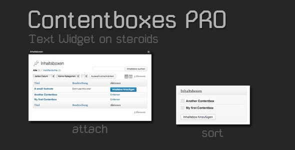 Contentboxes PRO - CodeCanyon Item for Sale