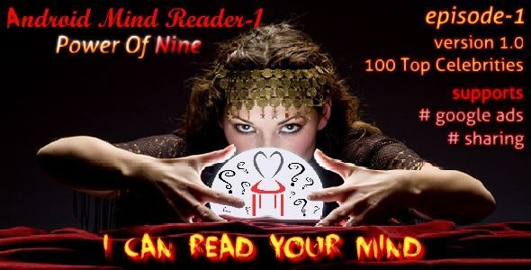 Android Mind Reader-1: The Power of Nine - CodeCanyon Item for Sale