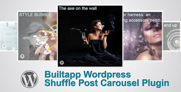 Builtapp Shuffle Post Carousel Plugin