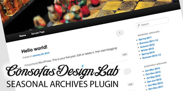 Seasonal Archives WP Plugin - CodeCanyon Item for Sale