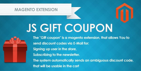 Js gift coupon - CodeCanyon Item for Sale