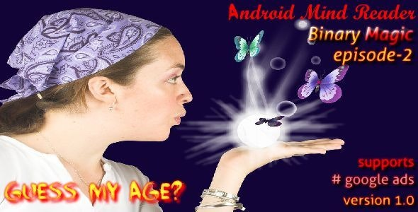 Android Mind Reader : Guess My Age - CodeCanyon Item for Sale
