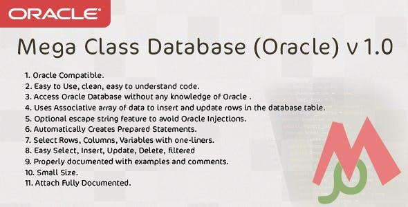 Mega Class Database (Oracle) v 1.0
