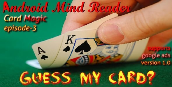 Android Mind Reader : Guess My Card - CodeCanyon Item for Sale