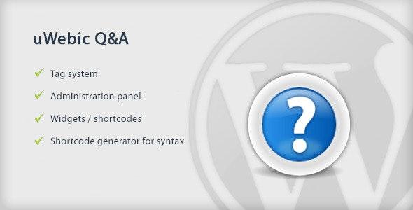 uWebic Q&A - CodeCanyon Item for Sale