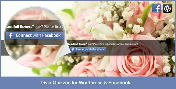 Trivia Quizzes for Wordpress and Facebook - CodeCanyon Item for Sale