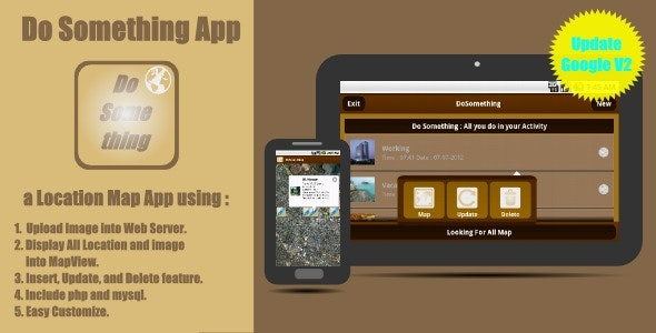 Do Something App : a Location Map Application - CodeCanyon Item for Sale
