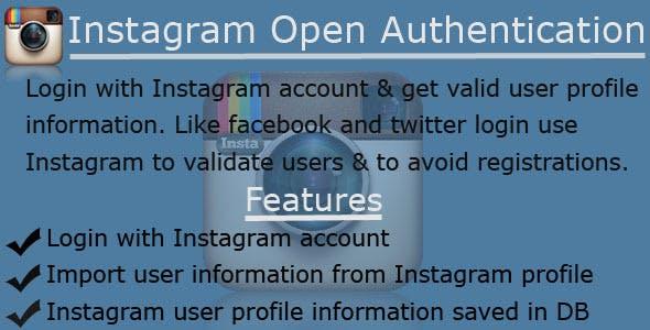 Instagram OAuth Login & DB Integration