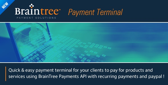 BrainTree Payment Terminal - CodeCanyon Item for Sale
