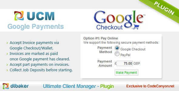 Google Wallet Payments