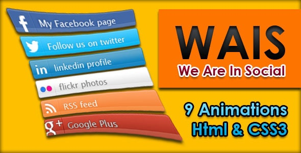 WAIS - We Are In Social - CodeCanyon Item for Sale