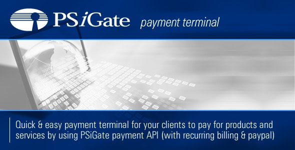 PSiGate Payment Terminal - CodeCanyon Item for Sale