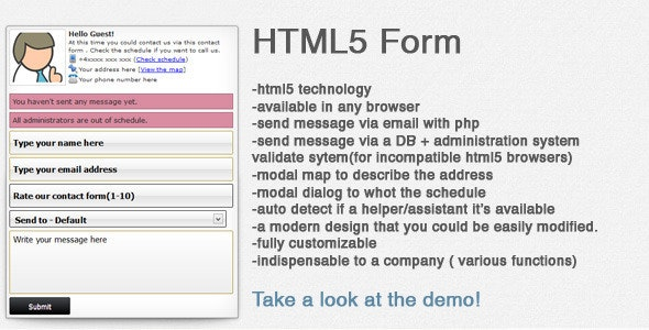 Impressive contact form - CodeCanyon Item for Sale