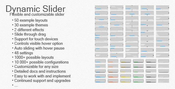Dynamic Slider - CodeCanyon Item for Sale